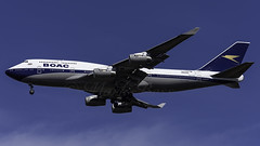 G-BYGC_JFK_Landing_31R_BOAC_Retro (MAB757200) Tags: boac britishairways b747436 gbygc 19192019 100years retrolivery aircraft airplane airlines airport jetliner landing runway31r boeing jfk kjfk queenoftheskies