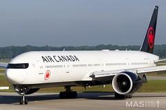 Air Canada B777-300ER C-FIVX @ MUC (MASAviation) Tags: aviation avgeek spotter munichairport aircanada boeing b777