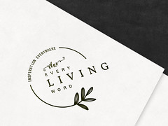 Every Living Word Logo Concept (Sold) (Master Monster) Tags: logo businesslogo signature beautiful every living word brand identity creative