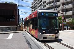 xxx 16 Nagasaki Electric Tramway 3003 (Howard_Pulling) Tags: nagasaki tram rams trams strassenbhan strassenbahn kyushu japan japanese