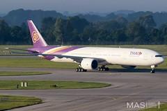 Thai Airways B777-300ER HS-TKO @ MUC (MASAviation) Tags: aviation avgeek spotter munichairport thai boeing b777