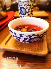 Chinese Tea Tasting Ceremony Remastered (Samira B Photography) Tags: ipodtouch tea teataste teataskingceremony chinese chinesefruittea fruittea redtea china traditionaltea traditional samirabphotography