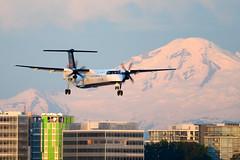 CYVR - Air Canada Express De Havilland Canada DHC-8-400 C-GGAH (CKwok Photography) Tags: