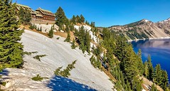 Crater Lake Lodge Overlooking Crater Lake (lhboudreau) Tags: