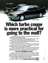 1993 Hyundai S Coupe Turbo Aussie Original Magazine Advertisement (Darren Marlow) Tags: 1 3 9 19 93 1993 h hyundai s c coupe t turbo car cool collectible collectors classic a automobile v vehicle k korean korea asian asia 90s