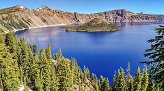 Crater Lake in Crater Lake National Park. (lhboudreau) Tags:
