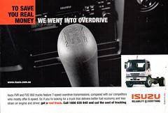 2001 Isuzu FVR & FVD 950 Trucks Aussie Original Magazine Advertisement (Darren Marlow) Tags: 1 2 5 9 20 2001 i isuzu f v r d fvr fvd 950 t trucks cool collectible collectors classic a automobile vehicle j jap japan japanese asian asia 00s