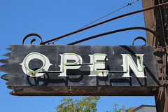 IMG_13854 (mudsharkalex) Tags: california oakland oaklandca jacklondonsquare jacklondonsrendezvous heinoldsfirstandlastchance heinoldsfirstandlastchancesaloon firstandlastchancesaloon open sign signs opensign neon neonsign neonsigns