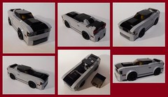 FF8 Dom's 2018 Dodge Challenger SRT Demon (collage) (Iggy X) Tags: lego moc speed champions fast furious moviecar dodge challenger srt demon