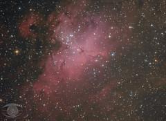 M16 - The Eagle Nebula (Dark Arts Astrophotography) Tags: m16 eagle eaglenebula nebula astrophotography astronomy space sky stars star science night nature natur nightsky ngc kingston kingstonist ygk deepsky