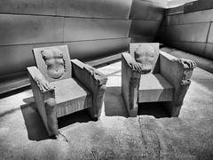 His & Hers (Irwin Scott) Tags: chairs seats hisher naked denverartmuseum denver colorado