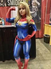 Colossal Smidgen (edwinc1017) Tags: megacon orlando 2019 comiccon comics convention cosplay colossal smidgen capain marvel