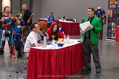 SP101247 (Patcave) Tags: heroes con heroescon heroescon2019 2019 convention costume contest cosplay comics comicbook shot canon eosm 1855mm efm f3556 lens patcave 5d3 northcarolina north carolina charlotte center indoors air conditioning