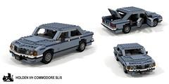 Holden VH Commodore SL/X Sedan (lego911) Tags: holden gmh gm general motors holdens vh commodore 1981 1980s auto car moc model miniland lego lego911 ldd render cad povray aussie australian afo sedan saloon slx