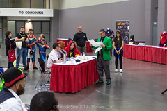 PS121642 (Patcave) Tags: heroes con heroescon heroescon2019 2019 convention costume contest cosplay comics comicbook shot canon eosm 1855mm efm f3556 lens patcave 5d3 northcarolina north carolina charlotte center indoors air conditioning