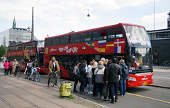 Hop-On Hop-Off Sightseeing - Copenhagen (aviation777) Tags: red buses copenhagen hop off sightseeing bus buss tourist