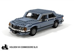 Holden VH Commodore SL/X Sedan (lego911) Tags: holden gmh gm general motors holdens vh commodore 1981 1980s auto car moc model miniland lego lego911 ldd render cad povray aussie australian afo sedan saloon slx foitsop