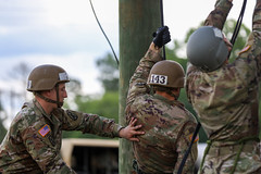 190618-A-DX878-1024 (Fort Drum & 10th Mountain Division (LI)) Tags: ashleymmorris fortpolk 3bct 10thmountaindivision lightfightersschool airassault rappel rappelling confidencetower