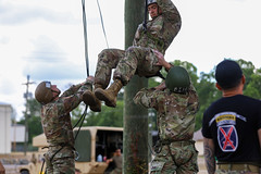 190618-A-DX878-1022 (Fort Drum & 10th Mountain Division (LI)) Tags: ashleymmorris fortpolk 3bct 10thmountaindivision lightfightersschool airassault rappel rappelling confidencetower