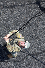 190618-A-DX878-1040 (Fort Drum & 10th Mountain Division (LI)) Tags: ashleymmorris fortpolk 3bct 10thmountaindivision lightfightersschool airassault rappel rappelling confidencetower