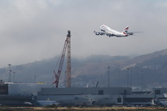 Construction Crane Gets Taken Down at SFO (photo101) Tags: sfo airport