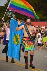Oklahoma Mr. Leather 2017 (radargeek) Tags: june beard rainbow flag pride parade mustache okc oklahomacity gayprideparade 2017 deadpool mrleather okcpride
