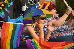 All rainbowed out (radargeek) Tags: june 2017 okcpride pride gayprideparade parade oklahomacity okc rainbow flag umbrella