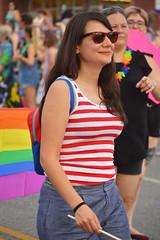 Stripes of all colors (radargeek) Tags: june 2017 okcpride pride gayprideparade parade oklahomacity okc stripes rainbow flag