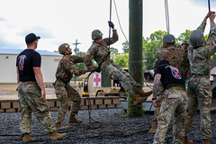 190618-A-DX878-1017 (Fort Drum & 10th Mountain Division (LI)) Tags: ashleymmorris fortpolk 3bct 10thmountaindivision lightfightersschool airassault rappel rappelling confidencetower