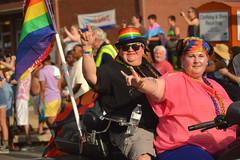 Rocking riders (radargeek) Tags: june 2017 okcpride pride gayprideparade parade oklahomacity okc motorcycle rainbow flag