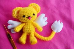 💛 plush Kero (sugarelf) Tags: character crochettoy cardcaptorcharacter handmade crochet felt yarn plushtoy myowndesign cute kawaii anime amigurumi worstedweightyarn