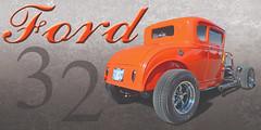 Orange Appeal - 32 Ford Coupe (Brad Harding Photography) Tags: 1932 32 ford fordmotorcompany coupe 2door hotrod customized custom streetrod restoration restored carshow heartlandcarshow paola kansas antique orange orangeappeal