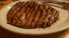 Steak Close Up (MartinAJ21) Tags: steak close up juicey dinner plate knife breakfast