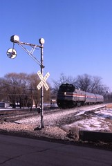 The Loop (ujka4) Tags: amtrak f40ph 352 wilmington illinois il wigwag loop