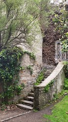 Stairway (MartinAJ21) Tags: ireland castle destination tourist wall stone medieval history travel building ivy stairway door