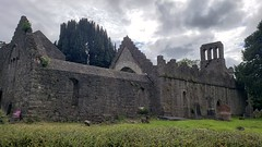 Ruined Abbey (MartinAJ21) Tags: ireland castle destination tourist wall stone medieval history travel building abbey ruins island