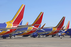 N8715Q, N8706W, N8723Q, Boeing 737Max 8, Victorville - California (ColinParker777) Tags: max boeing 737 737max california usa southwest tarmac america plane canon way airplane photography us airport photoshoot desert crash many aircraft aviation air united parking siblings aeroplane apron southern socal disused parked states airways phantom airlines airliner logistics grounded victorville mcas unused wn swa vcv sisterships kvcv 5dsr lens zoom foil wrap telephoto pro l split aluminium mkii winglets scimitar 100400 5ds n8706w n8715q n8723q max8