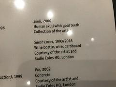 """Sarah Lucas """"Au Naturel"""" at the Hammer Museum (C-Monster) Tags: sarahlucas aunaturel hammermuseum penis matchsticks sculpture"""