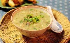 cach-nau-chao-dau-xanh-thit-bam (Nấu ăn không khó) Tags: porridge bean mince meat pork breakfast healthy food