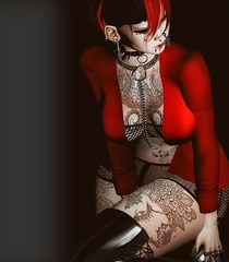 I Don't Care (marduklust resident) Tags: sl avatar second life dae fangs marduklust uc united colors dappa cx
