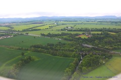 A Green And Pleasant Land....... (law_keven) Tags: scotland edinburgh photography aerial aerialphotography land green
