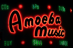 Amoeba Music (avilon_music) Tags: amoebamusic recordstore cds losangeles sunsetblvd neonsigns lps dvds neonlights neon markpeacockphotography hollywood vinylrecords musicmerchandise posters bandtees livemusic