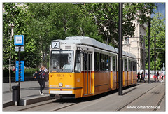 Tram Budapest - 2019-27 (olherfoto) Tags: tram tramcar tramway strasenbahn bkv budapest villamos hungary ganz ungarn