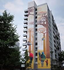Some beauty in a rough area / #streetart by #Jaba #DiderMathieu. . #bruxelles #graffiti #urbanart #graffitiart #streetartbelgium #graffitibelgium #bruxhell #bruxellesmabelle #mural #urbanart_daily #graffitiart_daily #streetarteverywhere #streetart_daily # (Ferdinand 'Ferre' Feys) Tags: instagram bxl brussels bruxelles brussel belgium belgique belgië streetart artdelarue graffitiart graffiti graff urbanart urbanarte arteurbano ferdinandfeys