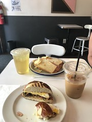 (Huge Cool) Tags: coffee breakfast parade brooklyn kensington