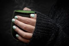 Gel Nail Polish Teal (NailArtsDelafield) Tags: gel nails shellac polish color colors nail art designs design arts no chip gelixer dnd opi wave