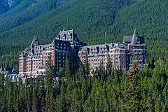 Fairmont Banff Springs Luxury Hotel, Banff, Alberta, Canada (tim t travel) Tags: alberta banff hotel springs marilyn monroe set movie river no return park jasper national