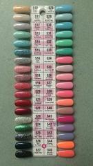4 - DND Gel Polish Color Palette (NailArtsDelafield) Tags: dnd gel polish colors shellac no chip nail nails palette color gelixer