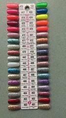 2 - DND Gel Polish Color Palette (NailArtsDelafield) Tags: dnd gel polish colors shellac no chip nail nails palette color gelixer