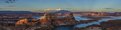 Alstrom Point Panorama (CraDorPhoto) Tags: blue sky usa lake mountains nature landscape outside outdoors utah valley buttes canon5dsr